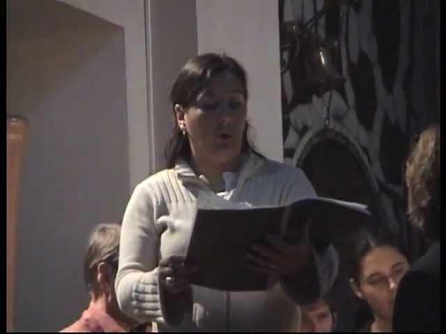 Preisner: Lacrimosa, with Maria João Carmo (mezzo-)soprano Col Canto conducted by Joyce Hohenkerk