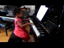 Alanna Crouch, 5 years old performs Oscar Peterson Jazz Exercise no.2