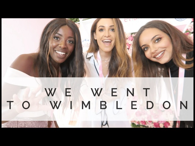 COME WITH ME TO WIMBLEDON | Danielle Peazer Jade Thirlwall