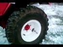 Колеса от авто Урал на трактор т 25.