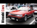 Wasabi Cars  Fukui My Life Mint 1986 Toyota Corolla Levin Apex