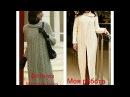 Пальто с запАхом косами, теплое, длинное спицами. Как вязать по описанию