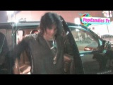 Exclusive! Adam Lambert Rocking New Long Hair Style @ Mr Black in Hollywood!