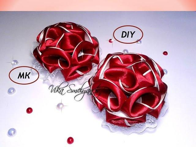 Цветок с новым лепестком на резинкеМК DIY new petal