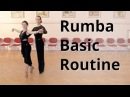 Rumba Basic Routine Membership Figures | Marts Smolko - Tina Bazykina