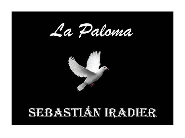 La Paloma Euskera Sebastián Iradier