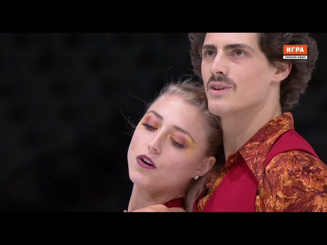 2016 Trophée Eric Bompard. Ice Dance - SD. Piper GILLES Paul POIRIER