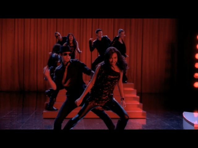 Glee - blame it on the alcohol.