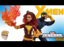 MARVEL LEGENDS X-Men DARK PHOENIX & CYCLOPS Figure REVIEW - 2017 Toys R Us EXCLUSIVE