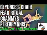 Beyonce Grammys EXPOSED Tipping Chair Fear Ritual performance illuminati Freemason Music Industry