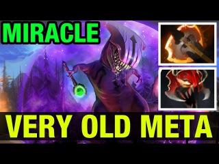 VERY OLD META - MIRACLE- FACELESS VOID - Dota 2
