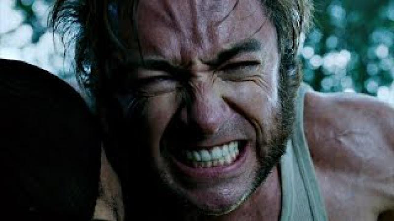 Росомаха нападает на лагерь Магнето. Росомаха против Шипа (Spike). Люди Икс: Последн...