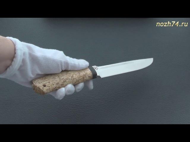Нож Селигер (Карельская береза, 110Х18М-ШД) - nozh74.ru