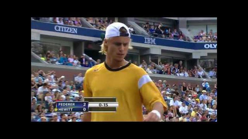 2004 R.Federer - L.Hewitt Final US Open 2004