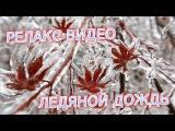 Ледяной дождь.Релакс видео.Прогулка после ледяного дождя.