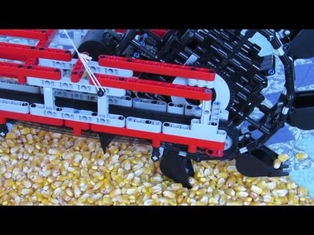 Lego bucket wheel excavator MOC