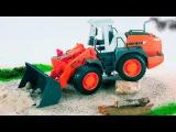 Children Video JCB Excavator & Bulldozer and Truck - Build Trucks For Kids - Construction Cartoon