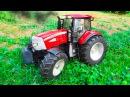 Traktor Czerwony Traktorek Agricultural Machinery Bajki dla dzieci i inne Animacje