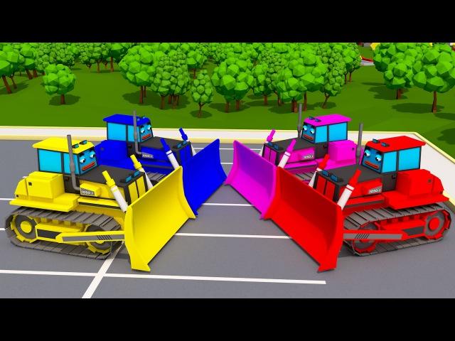 Superhero Cars Learning Colors Kids Surprise Trucks Finger Family Nursey Rhymes