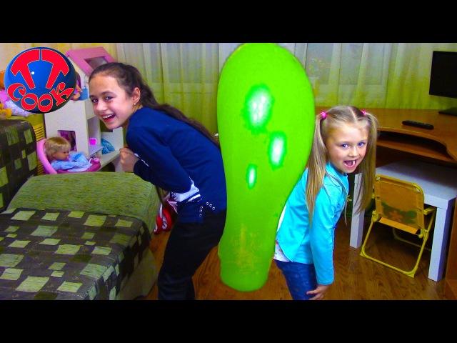 Челлендж Попробуй лопнуть шарик Видео для детей