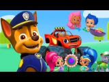 Щенячий патруль - сад дружбы/ Cartoon Games for Kids Babies and Toddlers TV