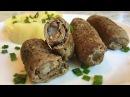 Мясные Пальчики из Свинины с Салом Крученики Meat Fingers Recipe Простой Рецепт Нежное Блюдо