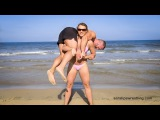 Beach Lift and Carry - Female Lifting Man