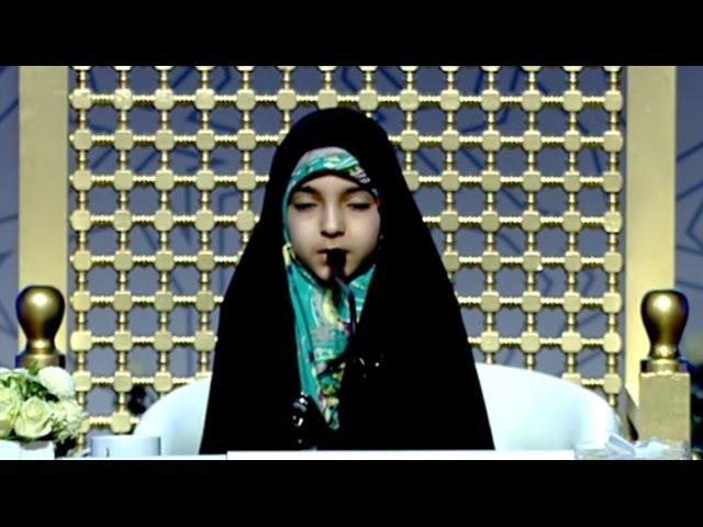 الطفلة التي ابهرت لجنة التحكيم جائزة دبي ا