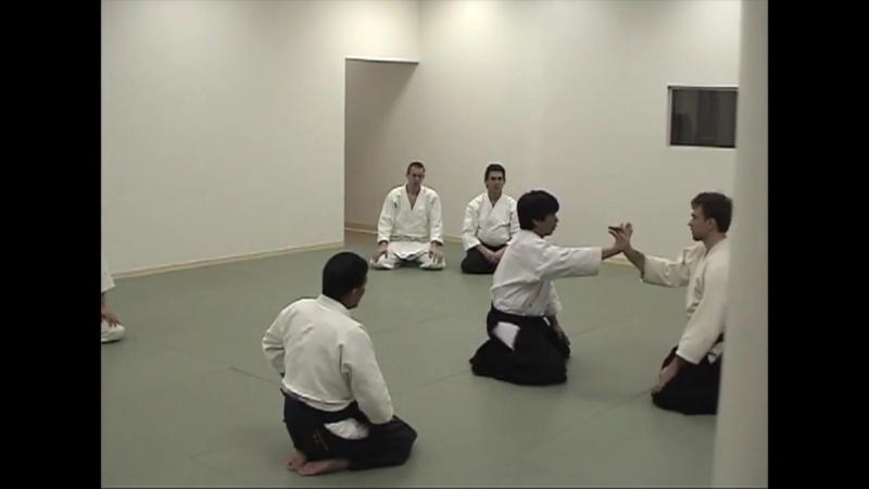 Козадори иккё вариации, демонстрирует Харуо Мацуока Сэнсэй, Икадзути Додзе