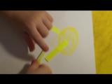 Детские весенние поделки из канцелярских стикеров ))))) Купить канцтовары: www.велком.укр  #канцтовары #канцтоварывелком #товары