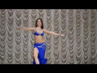 Superb Hot Arabic Belly Dance Anna Lonkina 7178