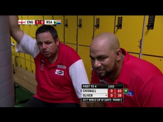 England vs South Africa (PDC World Cup of Darts 2017 / Round 2)