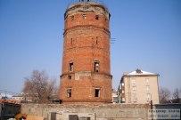 03 марта 2011 - Водонапорная башня на улице Жилина в Тольятти. Внешний вид
