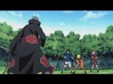 Наруто, Саске и Сакура против Хидана
