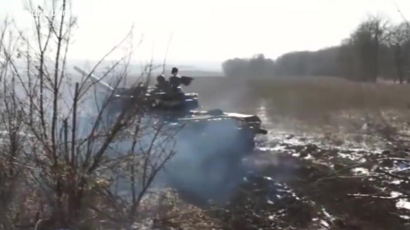 5-я танковая бригада ВС РФ в Украине (выпуск 18.04.2015 Om Tv)