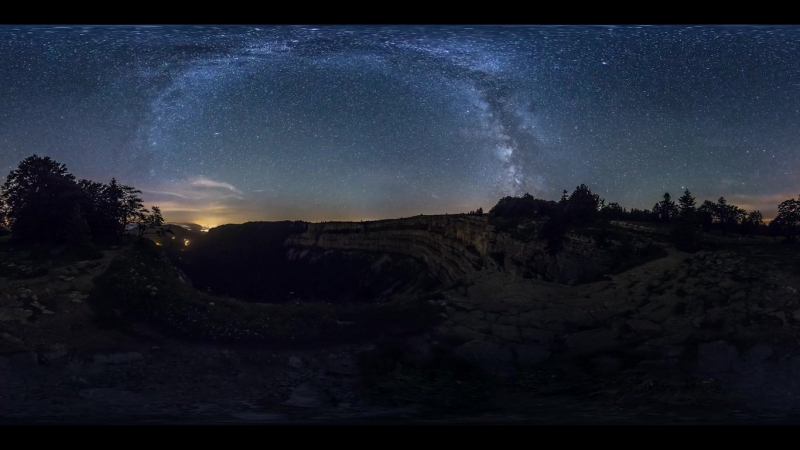 360° Звёздное Небо - Starry sky HELVETIA BY NIGHT