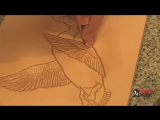 Резьба по коже - Carving-the-Mallard-Duck---Part-2