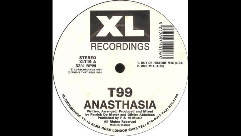 T99 ★ anasthasia ★ dub mix