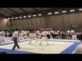 16th JKA All Japan Masters Chamoionship 05.11.2016 Men's 60-year old division qualifying