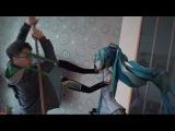 Hatsune Miku kick some ass in real life!