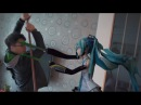 Hatsune Miku kick some ass in real life!