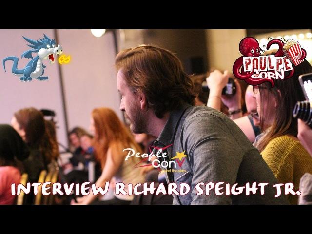 Interview Richard Speight Jr. à la convention Supernatural DarkLight Con (Paris)