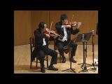 Taras Demchyshyn perform Clarinet Quintet Carl Maria von Weber