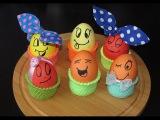 Пасхальные яйца. 2 СУПЕР способа как ОРИГИНАЛЬНО покрасить яйца!