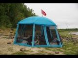 Отдых в палатке и рыбалка на Оби 2011. Заброс на попутках.