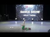 Остапенко Марина  Dance Show Solo Teens  I place  Dance Monsters Fest 2017