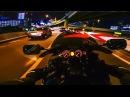 【ハヤブサ】良い音で、夜の首都高ドライブ - GoPro HERO5 Black - GSX1300R HAYABUSA - Yoshimura Exhaust