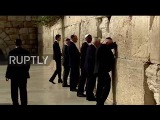 East Jerusalem Trump becomes first president to visit the Wailing Wall