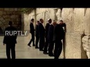 East Jerusalem: Trump becomes first president to visit the Wailing Wall