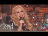 Avril Lavigne - Rock n Roll (Live @ The Queen Latifah Show 26.09.2013)